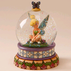 Heartwood Creek by Jim Shore Disney Traditions Tinkerbell Water Globe