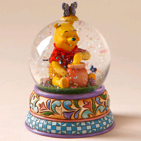 Heartwood Creek by Jim Shore Disney Traditions Winnie the Pooh Water Globe