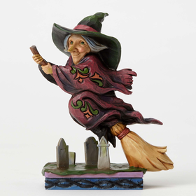 Heartwood Creek by Jim Shore Every Witch Way Figurine