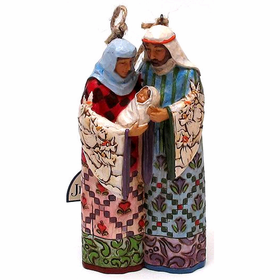 Heartwood Creek by Jim Shore Holy Family Holiday Ornament