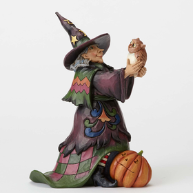 Heartwood Creek by Jim Shore Hoot'n Howl for Halloween Figurine