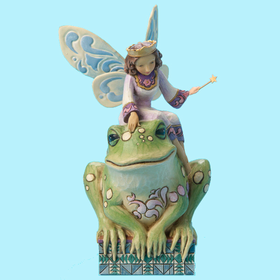 Heartwood Creek by Jim Shore Princess Fairy with Frog