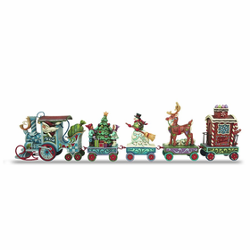 Heartwood Creek by Jim Shore The North Star Express 5 Piece Mini Train Set