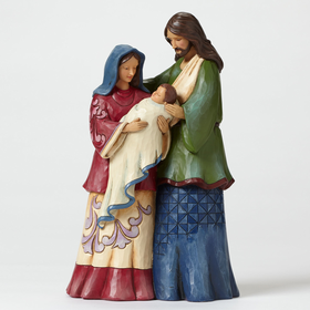 Heartwood Creek by Jim Shore The Reason - Holy Family