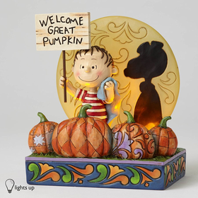 Heartwood Creek by Jim Shore Welcome Great Pumpkin - 50th Anniversary Figurine