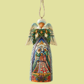 Heartwood Creek by Jim Shore Winter Angel Holiday Ornament