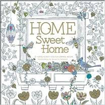 Home Sweet Home Hand Crafted Adult Coloring Book