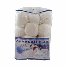 Indoor Snowball Fights