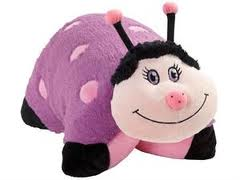 My Pillow Pet Ladybug Purple