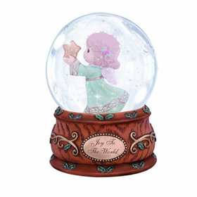 Precious Moments Angel Holding Star Water Globe