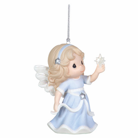Precious Moments Annual Angel Holding Star Ornament
