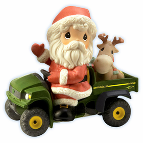Precious Moments Christmas:  John Deere - Holiday Delivery
