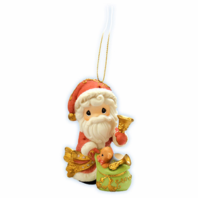 Precious Moments Christmas:  May Your Christmas Ring With Joy - Ornament