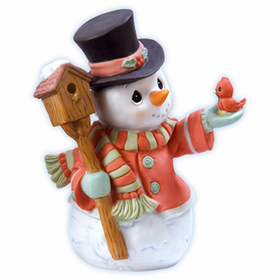 Precious Moments Christmas:  Snowman Home For the Holidays