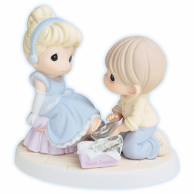 Precious Moments Disney Cinderella: Your Love is a Perfect Fit