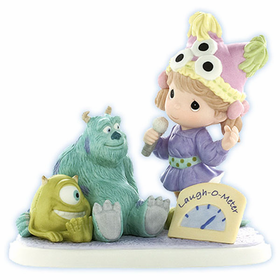 PRECIOUS MOMENTS DISNEY MONSTERS INC. MIKE AND SULLEY: LAUGHTER GIVES FRIENDS THE POWER TO SHARE