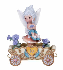 Precious Moments Disney Princess Birthday Train Age 10 Periwinkle