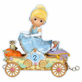 Precious Moments Disney Princess Birthday Train Age 2 Cinderella