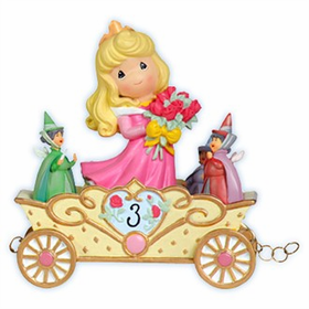 Precious Moments Disney Princess Birthday Train Age 3 Aurora