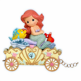 Precious Moments Disney Princess Birthday Train Age 4 Ariel
