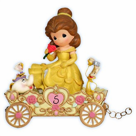Precious Moments Disney Princess Birthday Train Age 5 Belle