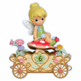 Precious Moments Disney Princess Birthday Train Age 6 Tinkerbell