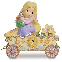 Precious Moments Disney Princess Birthday Train Age 7 Rapunzel