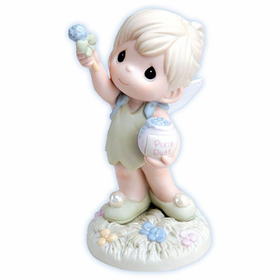 PRECIOUS MOMENTS DISNEY TINKERBELL:  ALWAYS REACH FOR THE STARS