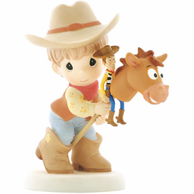 Precious Moments Disney Toy Story:  Rounding Up a Gang Full of Fun