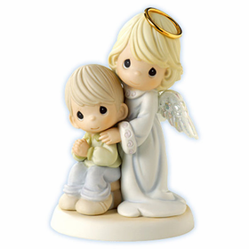 Precious Moments Guardian Angel Boy: Always By Your Side