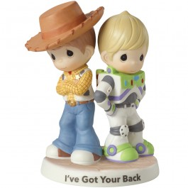 Precious Moments �I've Got Your Back� Toy Story Bisque Porcelain Figurine