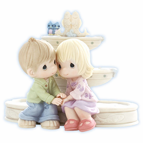 PRECIOUS MOMENTS LIMITED EDITION: LOVE IS THE FOUNTAIN OF LIFE