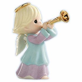 Precious Moments Mini Nativity: Born is the King of Israel - Angel Figurine