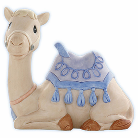 Precious Moments Nativity: He Will Bring Goodness and Light - Camel