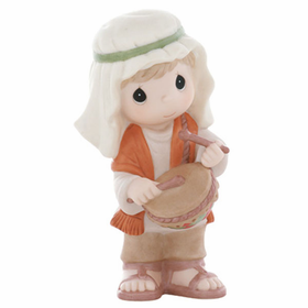 Precious Moments Nativity: My Gift For Him - Drumer Boy