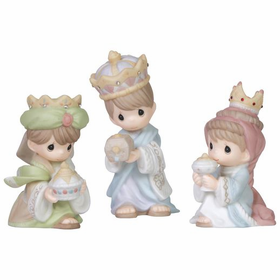 Precious Moments We 3 Kings Mini Set