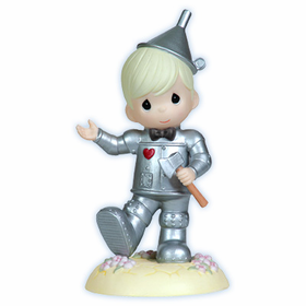 Precious Moments Wonderful Wizzard of Oz Tin Man Figurine