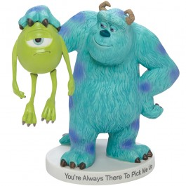 Precious Moments �You're Always There To Pick Me Up� Monsters, Inc., Bisque Porcelain Figurine
