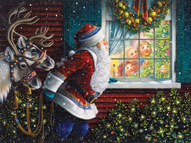 Puzzle Gifts From Santa 500 Piece