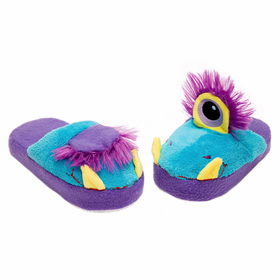 Stompeez Slippers One-Eyed Monster size medium