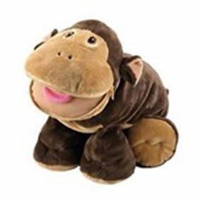 Stuffies Scout the Monkey