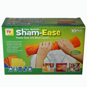 Super Absorbent Sham Ease