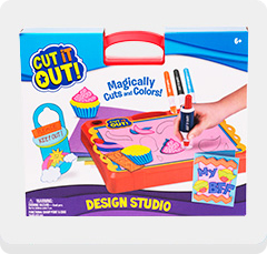 TPF Toys Cut It Out! Design Studio