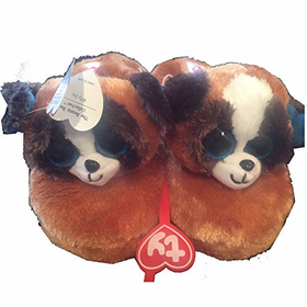 Ty Beanie Boo Duke the Dog Slipper Medium