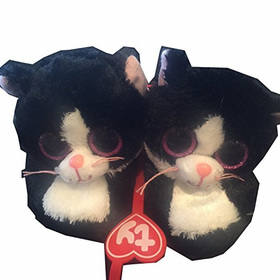 Ty Beanie Boo Pepper the Cat Slipper Medium