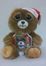 William Mark Feisty Pets Christmas Teddy Bear Ebenezer Claws