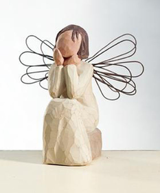Willow Tree Angel of Caring Platinum Dealer Exclusive
