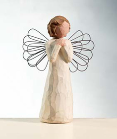 Willow Tree Angel of Wishes Platinum Dealer Exclusive