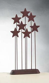 Willow Tree Nativity Metal Star Backdrop