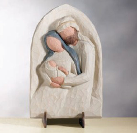 Willow Tree The Holy Family Plaque